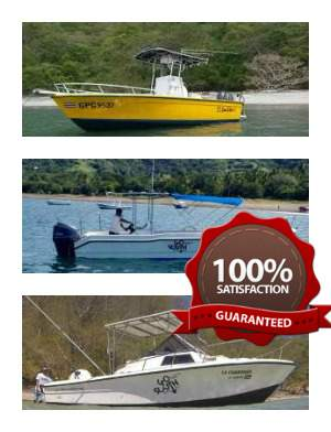 Gulf of papagayo fishing charters villa thoga tours for Gulf shores fishing charter rates