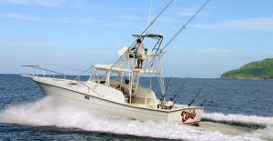 this boat guarantee you the best fishing in tamarindo costa rica