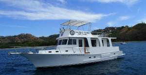 the best boat for big parties. up to 10 anglers for playa hermosa deep sea fishing trips