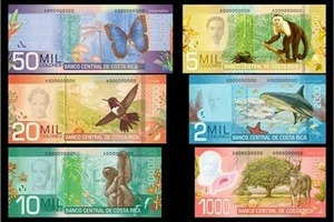 costa rica exchange rate