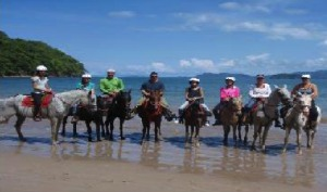 one of the best horseback riding tamarindo tours
