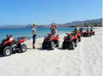 one of the most popular tamarindo costa rica activities are the atv tours